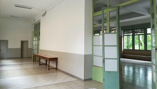 Sala Comunitaria vista esterna