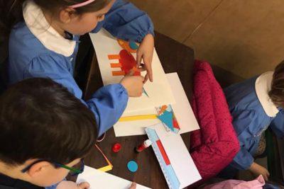 Workshop bambini mostra Anna Sutor